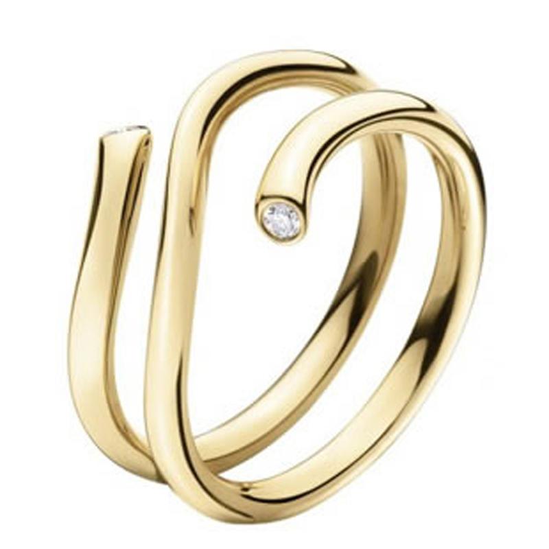 High Quality Silver 14K Gold Snake Bangle Bracelet