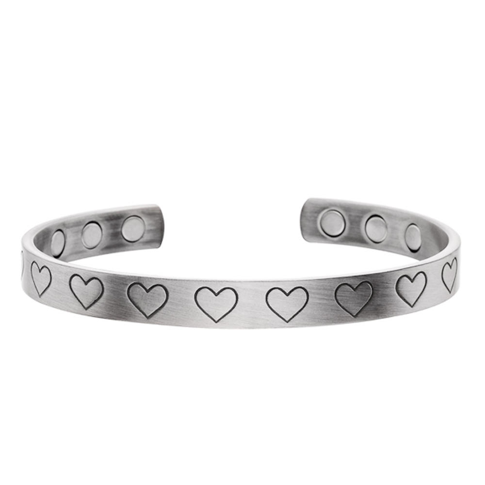 Rose gold wholesale simple copper magnetic bracelet