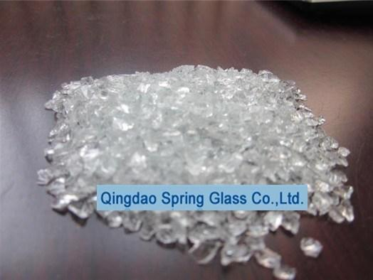 Crushed Glass Chips for Producing Marble