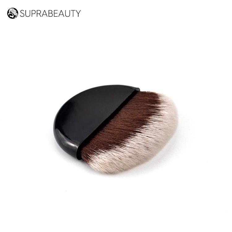 Suprabeauty compact blusher case oval foundation brush mini