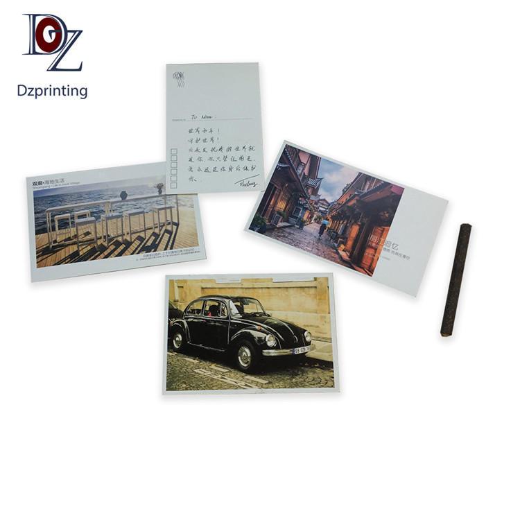 Custom printing postcard travel 4X6 travel post card