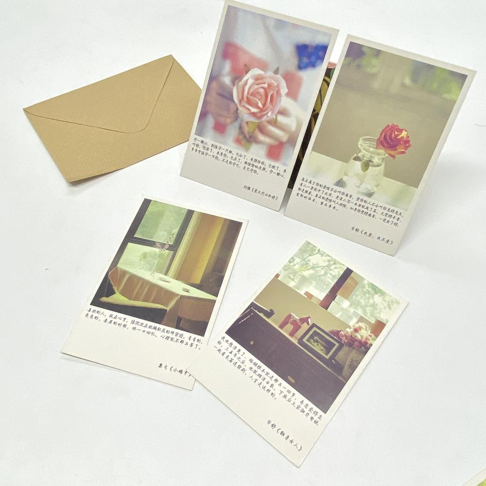 Original Porcelain Buy Gift Recordable Card Famous Paintings Postcard