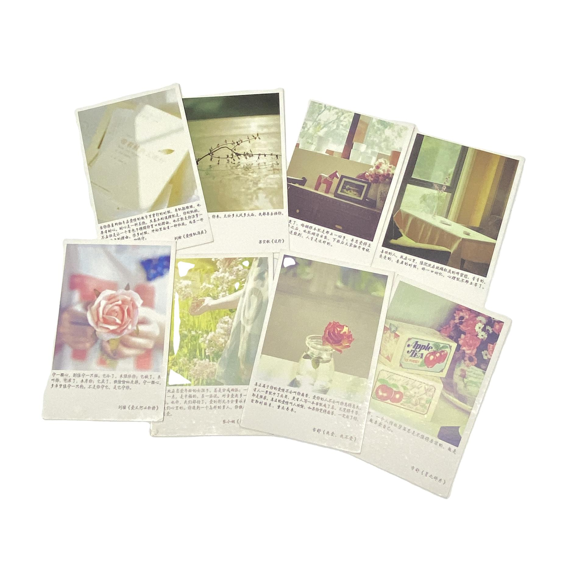 Exquisite Portable Blank Recordable Landscaping Cards Postcard Printing