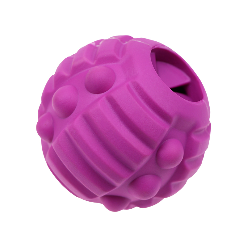 Treat Dispensing toyRubber toy manufacturers pet toy ball suitable for small and medium-sized indestructible dogs