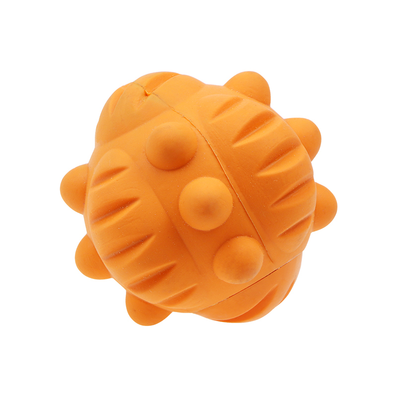Durable Tough Chew Toy Aggressive Chewing Rubber Interactive Dog Toy