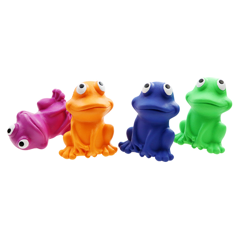 rubber dogtoy Rubber indestructible frog toy manufacturers custom rubber toys
