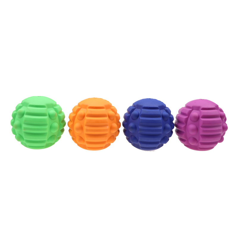 Newly designed molars clean toy ball, can bite dog snacks leak pet dog toys, can be customized processing.