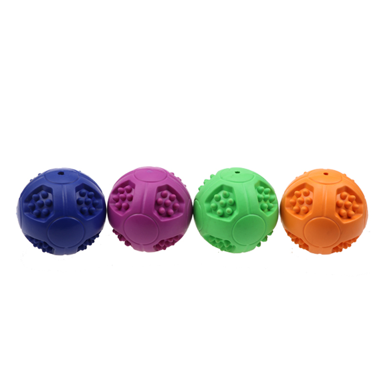 Fun Foraging IQ Treat Ball Food Dispensing Toys Rubber Dog Tooth Cleaning Ball, 7.62cm Interactive Toys for dogs Dog Feed Toy