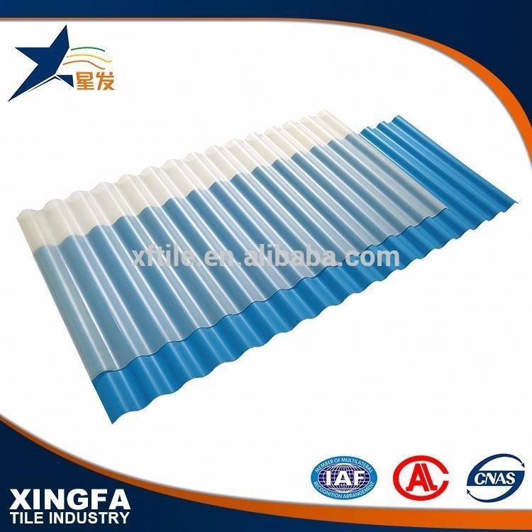 Resistance acid transparent corrugate 0.7 mm thick aluminum zinc roofing sheet
