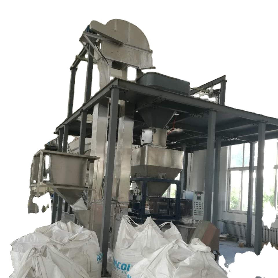 Detergent base powder intermittent post blending production line / Washing powder mixing machine