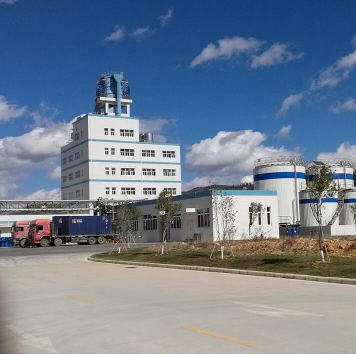 high quality spray tower process light density washing powder production line