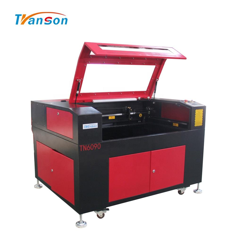 Transon High Precision 6090 Synrad RF 60W CO2 Laser Engraving Cutting Machine With Honeycomb Worktable