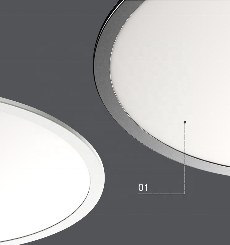 Indoor lightinground led panel pendant light for Home Office Hotel Shop Led Ceiling Light