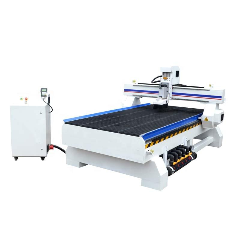 4.5KW DSP Wood 3D Carving CNC Router Machine 1530 With Vacuum Worktable For Funiture
