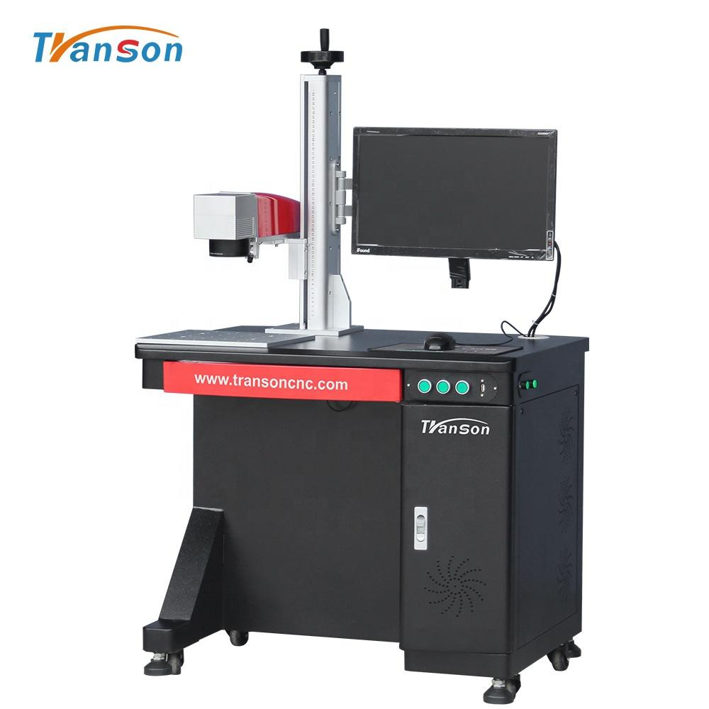 20w 30w 50w 60W 100w Raycus JPT Fiber Laser Marking Machine For Jewelry Gold Silver Aluminum Steel Metal Engraving
