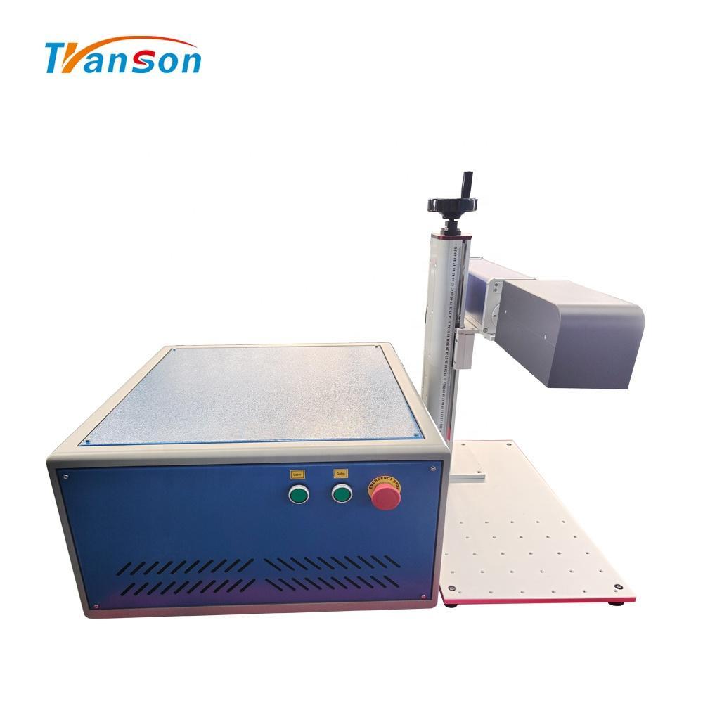 50w 100w 200w Fiber Laser Mini Portable Metal Fiber Engraving 3D Fiber Laser Marking Machine