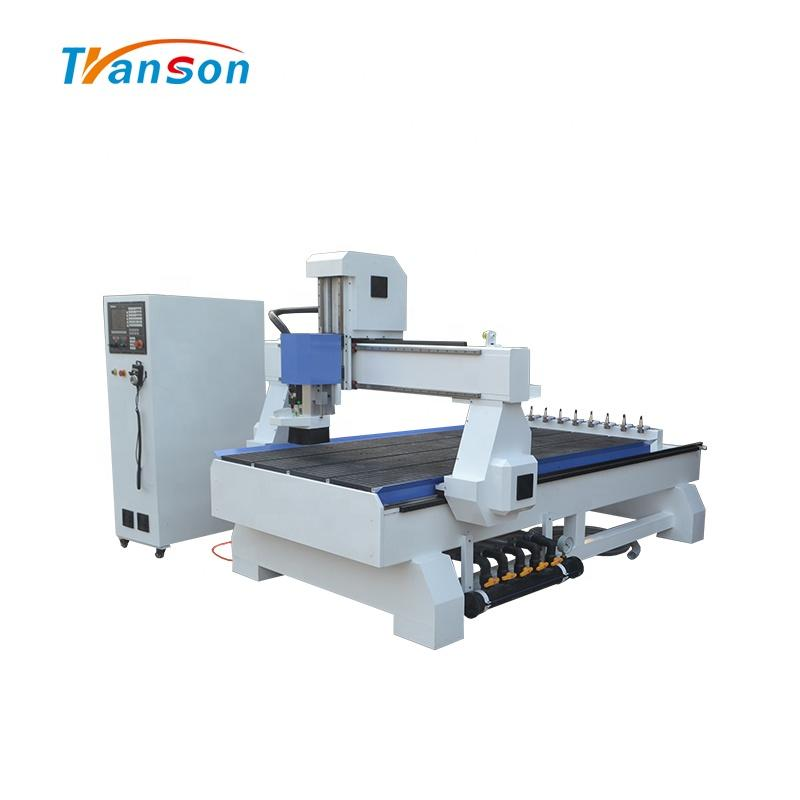 1325 ATC 9KW WHD Wood CNC Router Machine With Back 8 Tools Linear ATC Price