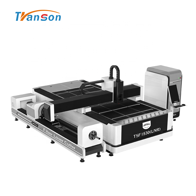 1000W Metal Tube And Plate Fiber Laser Cutting Machine With 6m Rotary For Metal Plate Metal Tube Cutting1530
