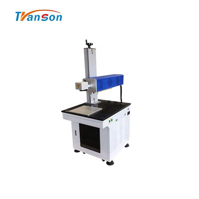 Transon Brand 30w DAVI Synrad Coherent RF Metal Tube CO2Laser Marking Machine For Wood Paper Leather