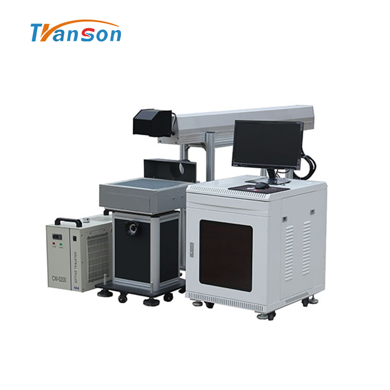 DW China CNC Co2 Laser Marking Machine For Marking Cutting Non-metal Materials