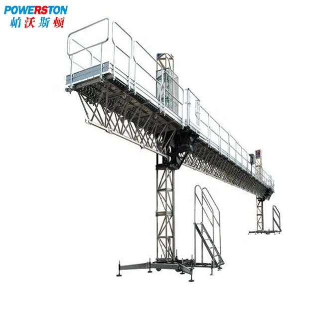 Mast Lifting Electric Building Maitenance Aerial Work Suspension Platform