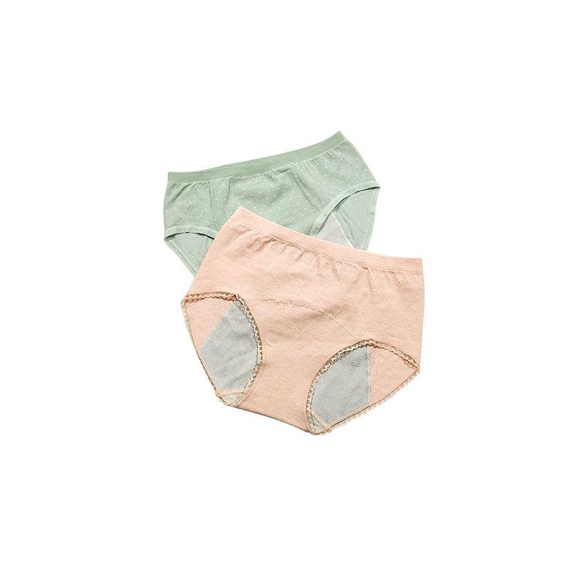 plus size bamboo reusabl menstrual period girl boxer panties underwear