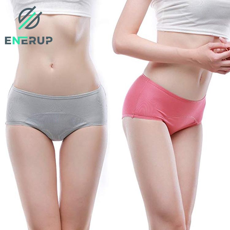 Enerup Calcinhas E Sutias Culotte Fille Boxer Female Leak Proof Menstruation Girls Ladies Underwear Period Panties Women