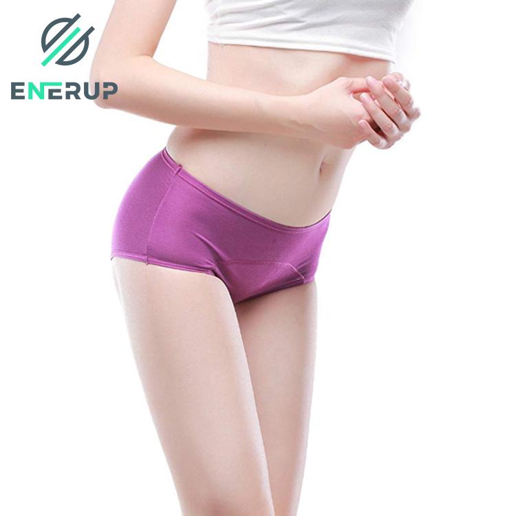 Enerup Leakproof Protective Boxer Bragas De Ninas Menstrual Cycle Boxer Knickers Briefs Women Ladies Underwear Period Panties