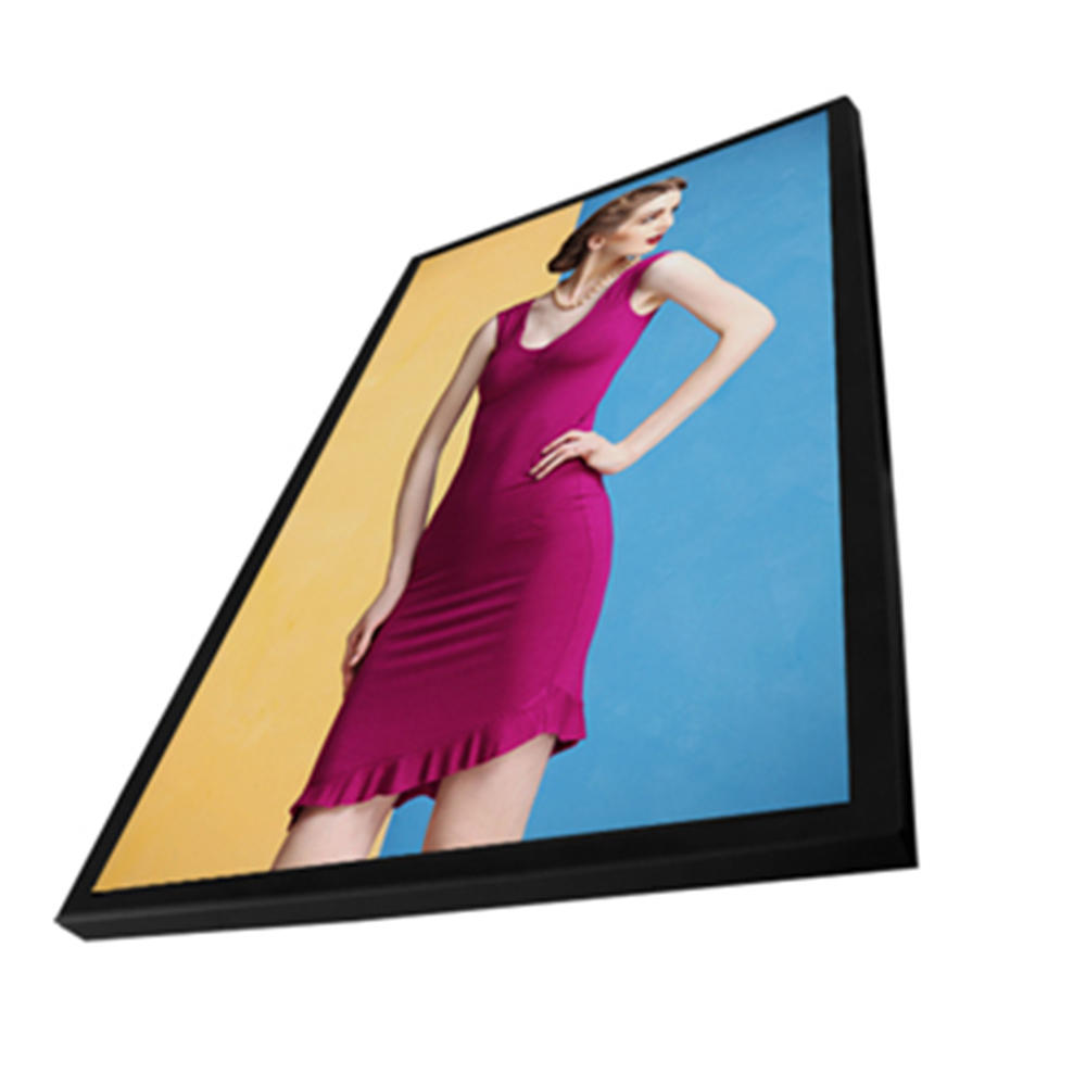 Horizontal wall mount advertising display monitor lcd digital signage