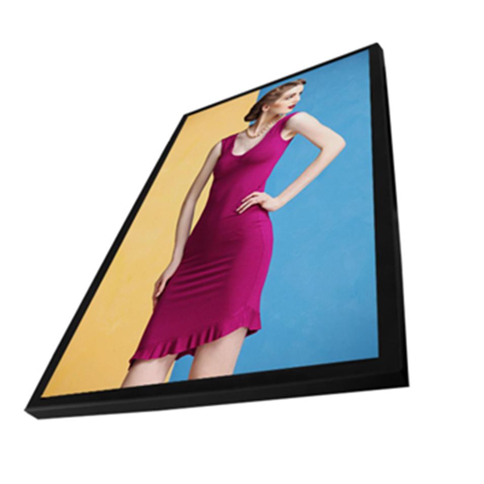 Horizontal wall mount advertising display monitor lcd digital signage