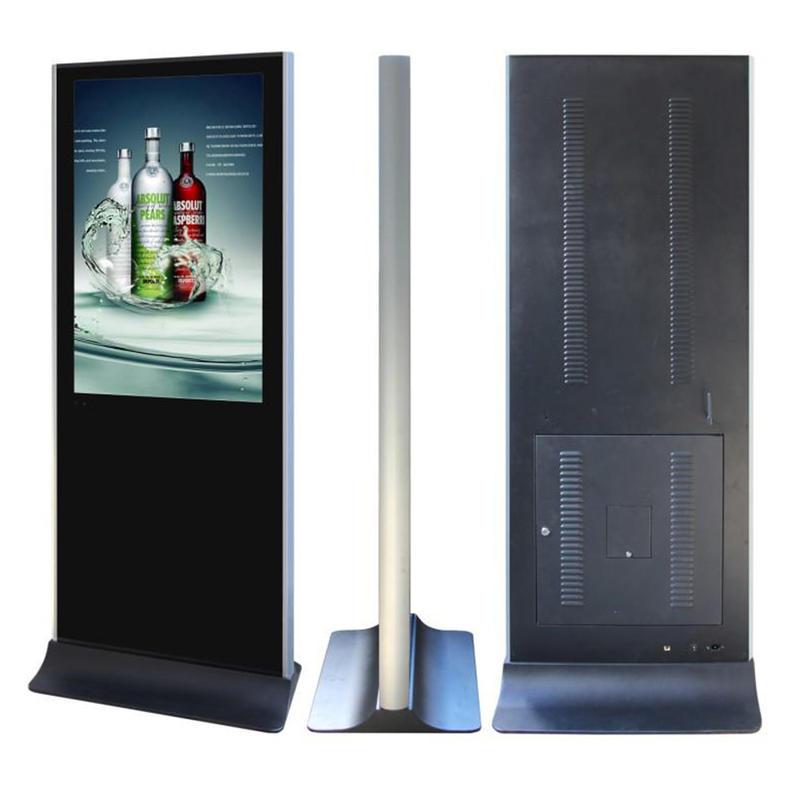 32 Inch Indoor Aluminum Frame Advertising Touch Screen Kiosk