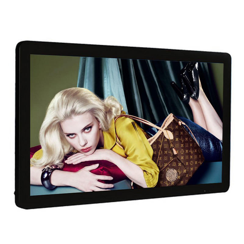 43 inch android touchscreen wall mounted advertising display with good quality