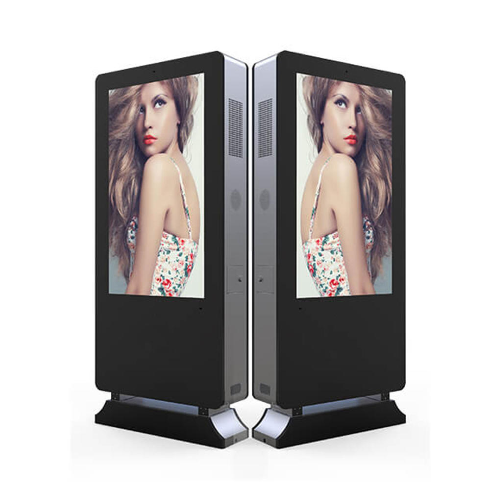 Floor stand digital signage lcd advertising display manufacturer