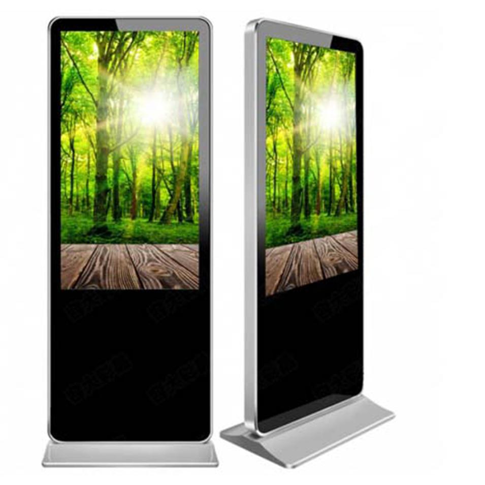 Fashion design outdoor floor standing digital signage totem network kiosk display stand