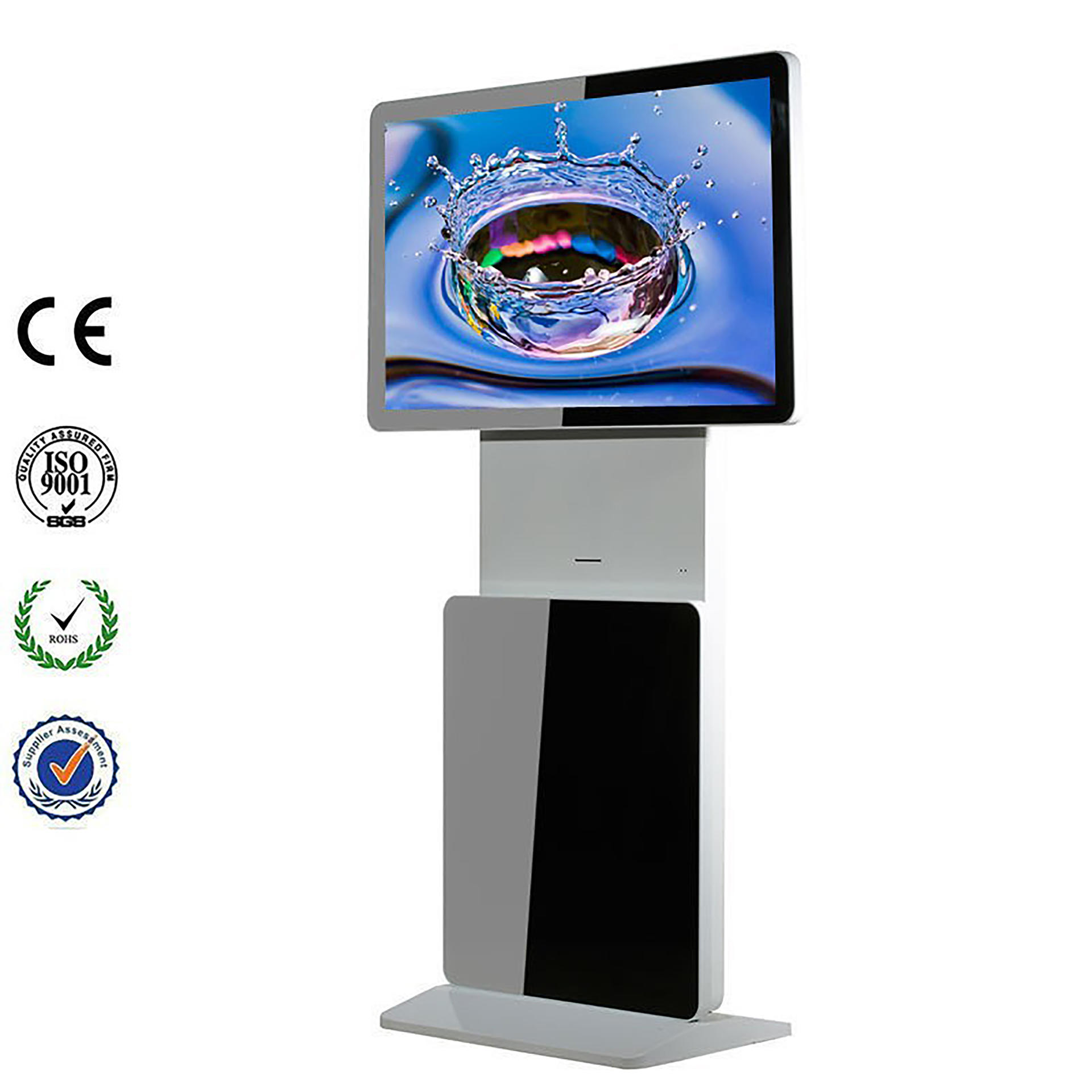 43 inch advertising digital signage player display for airport hotel use