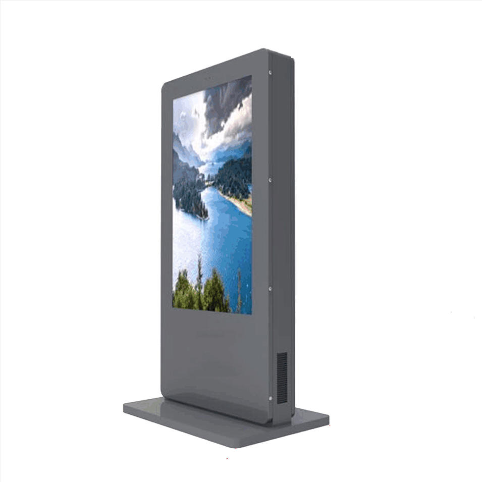 china kiosk manufacturer standing outdoor 55 inch touch screen vending machine winnsen