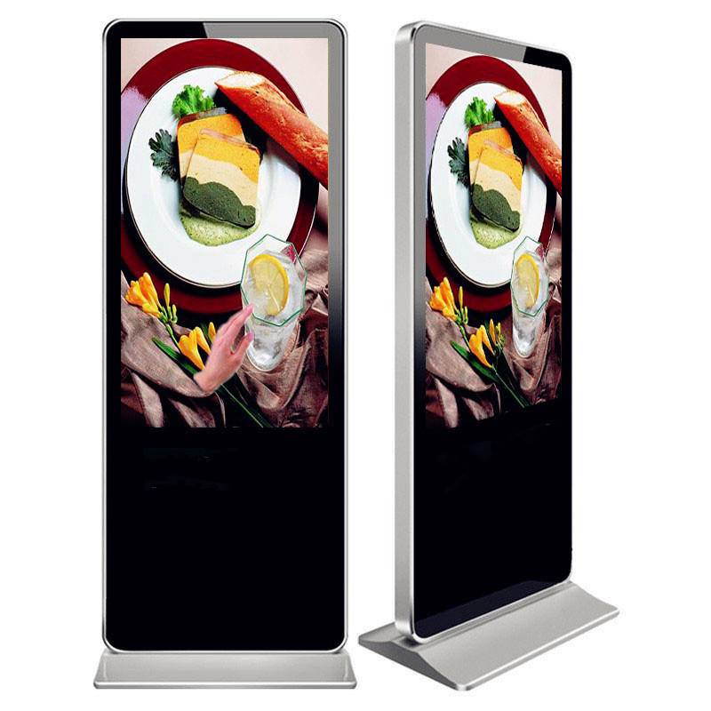 49 inch floor stand touch screen Android digital LCD display advertising kiosk