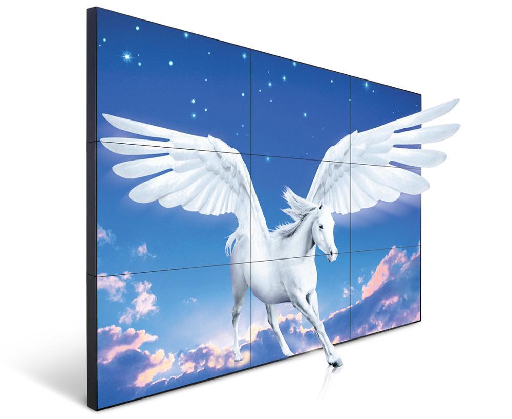 49'' Super 3.5 mm narrow bezel lcd video wall advertising splicing screen