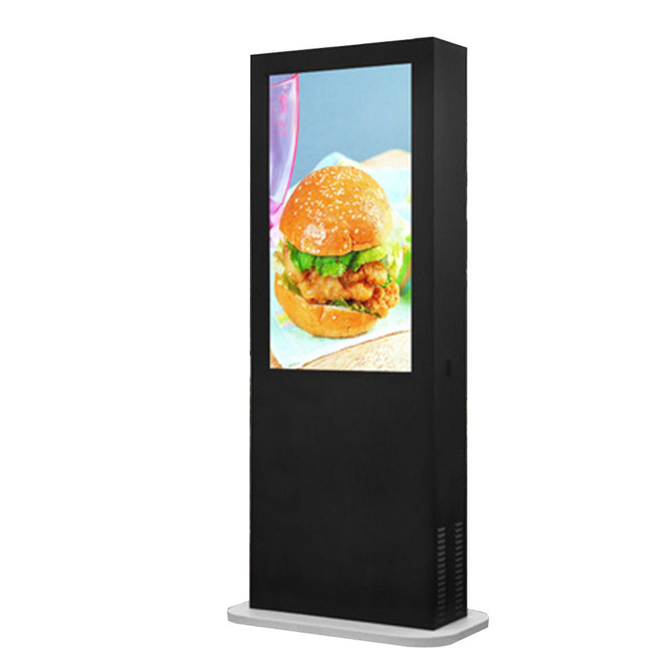 55 inch touch floor standing advertising player