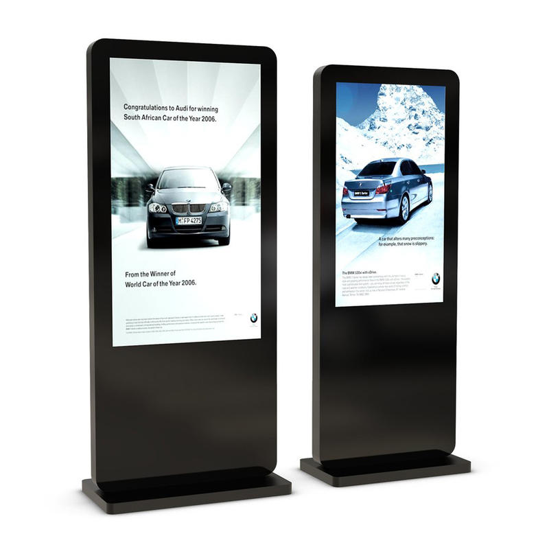 Floor stand WiFi android digital signage LCD display full outdoor kiosk