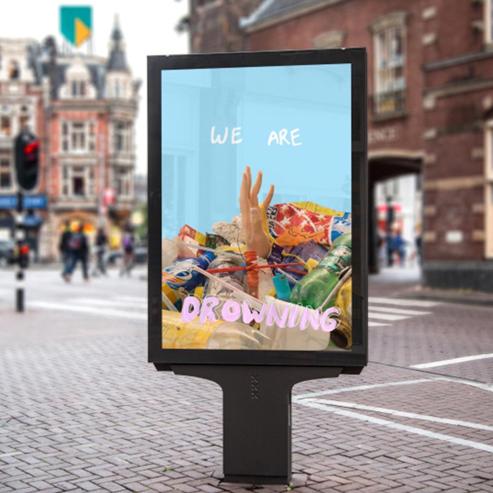 55'' super slim outdoor IP65 digital signage kiosk waterproof outdoor LCD display
