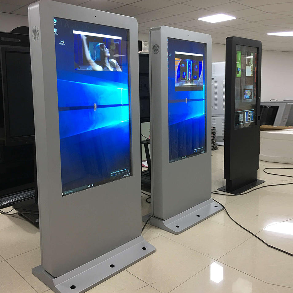 Touch screen outdoor advertising digital signage player