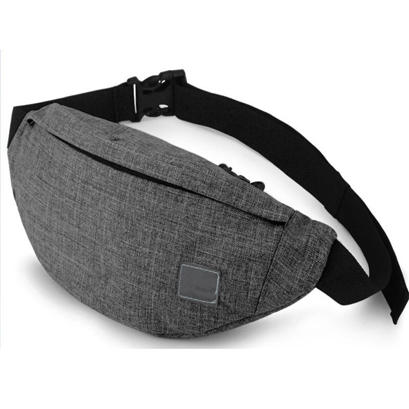 Male Men Waist Bag Pack Casual Functional Money Phone Belt for Women Canvas Hip Fanny Pouch Banana bags