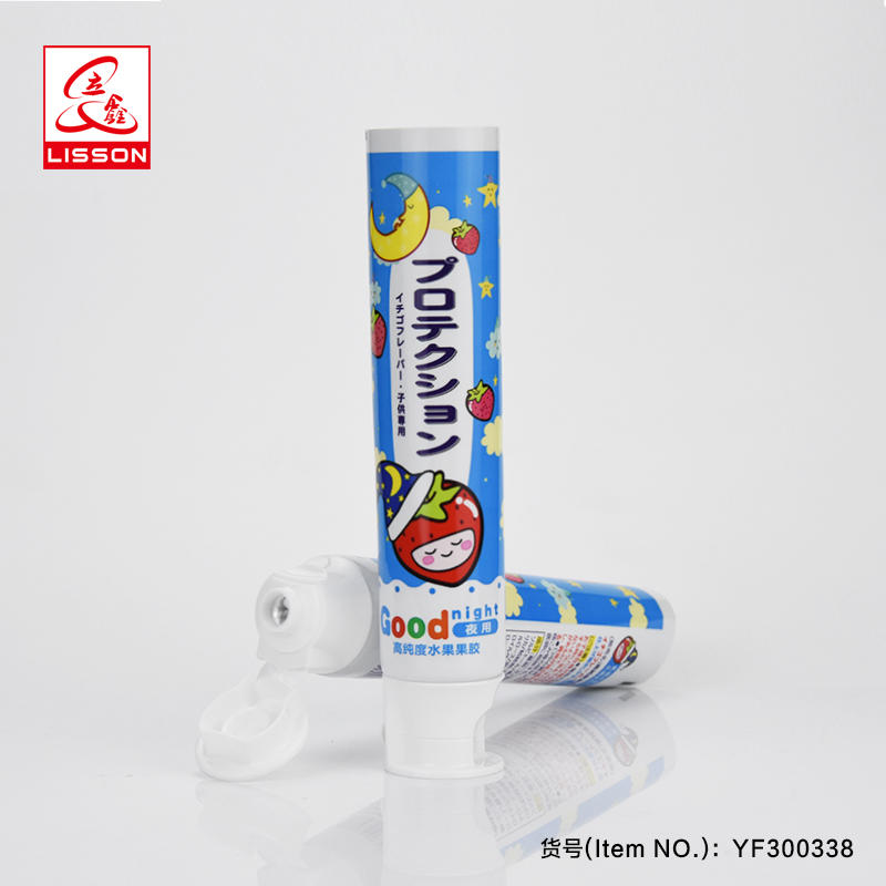 Children Day And Night Use Abl Laminated Tube Toothpaste Packing Tube