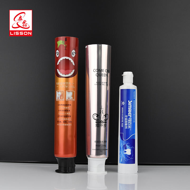 factory price Laminated toothpaste tube empty container cream packaging tubes