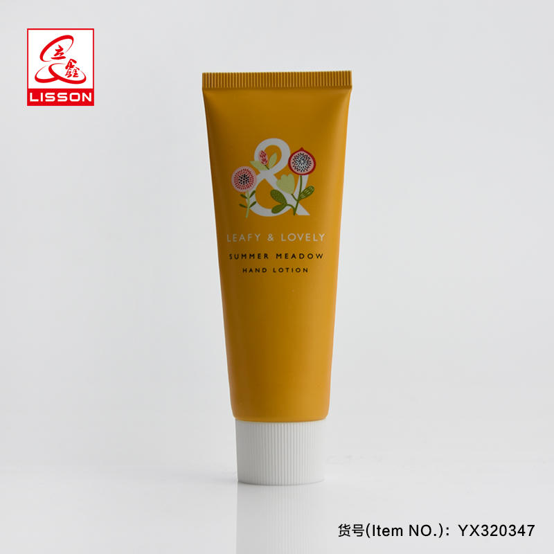 100ml Colorful offset printed cosmetic plastic tube packaging toothpaste with screw cap