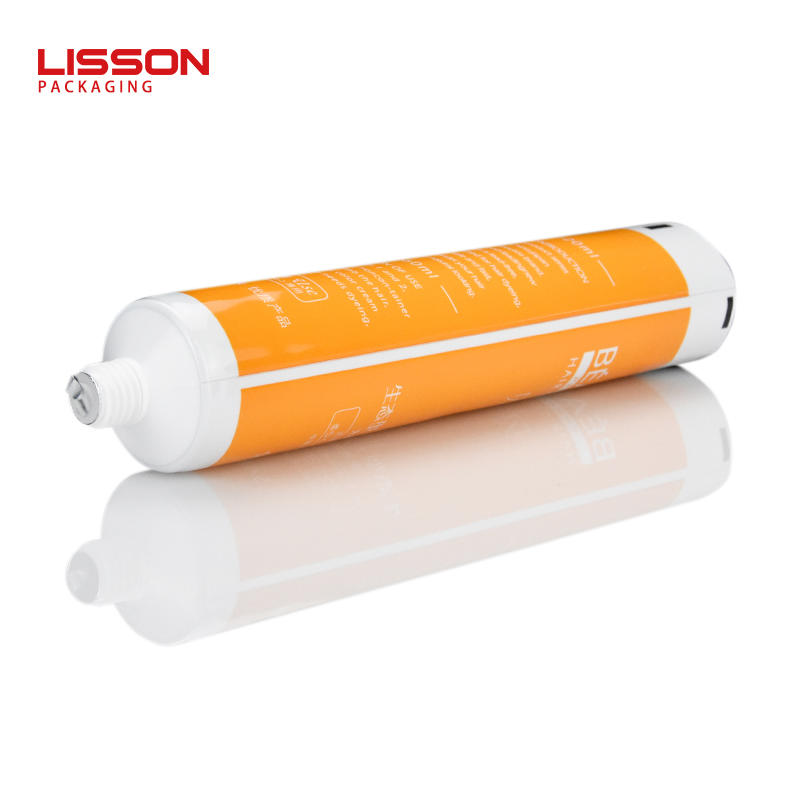 120ml empty custom printed toothpaste tube packaging with screw cap