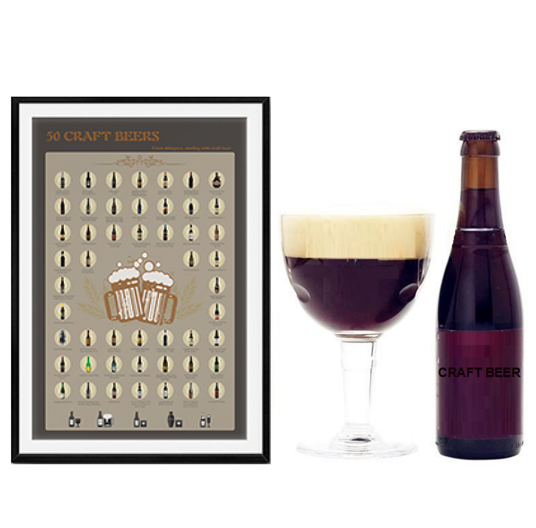 product-Dezheng-2020 Scratch OffposterScratch OffPoster Craft Beerfor Amazon FBA,-img-1