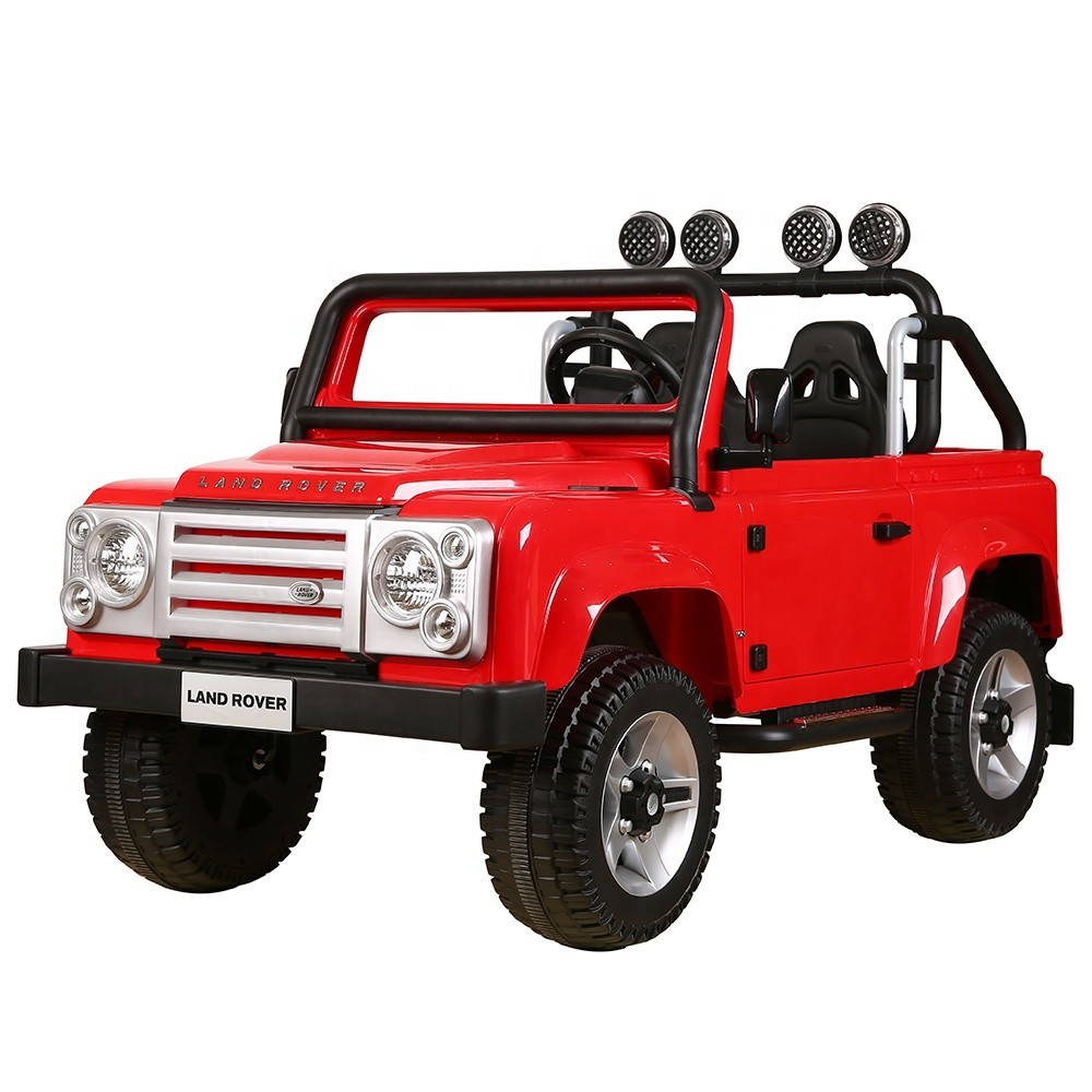 Wholesale rechargeable licensed battery baby ride on toy car jeep 12V