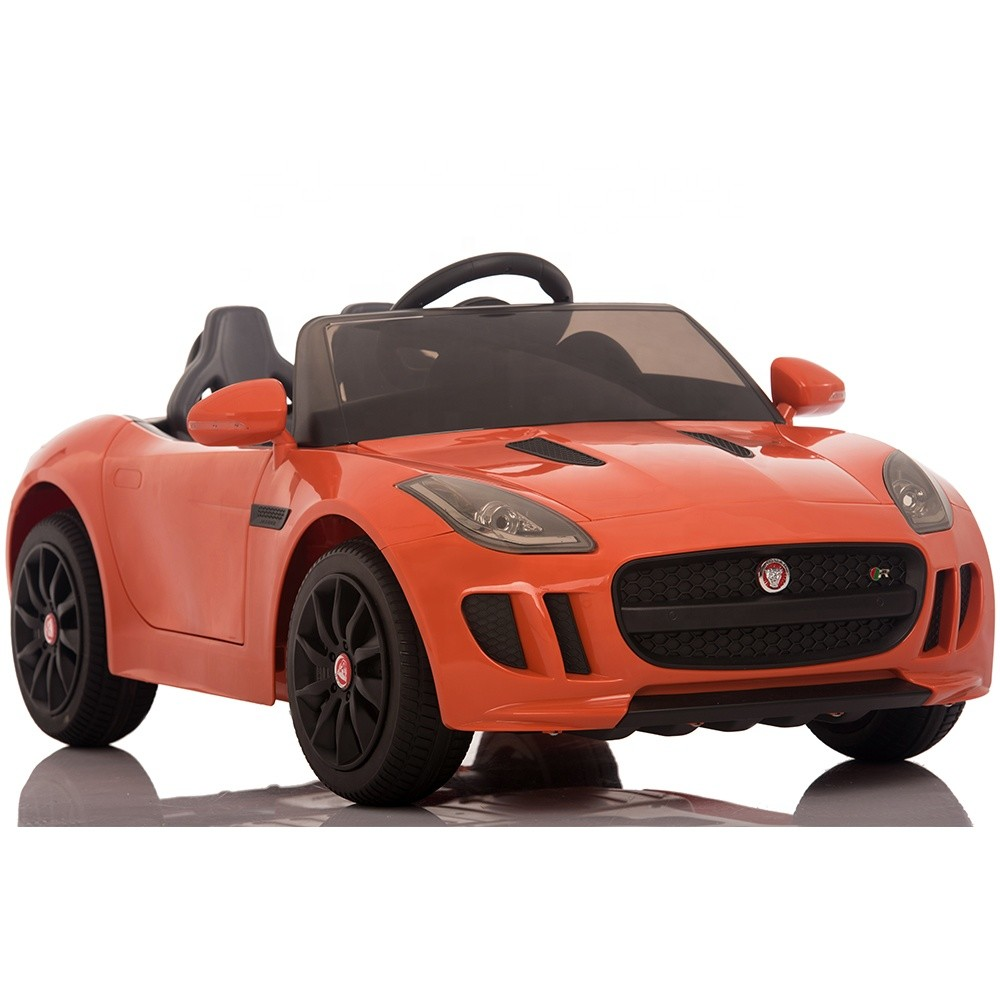 electric ride on cars with remote for kids Jaguar licensed children battery car
